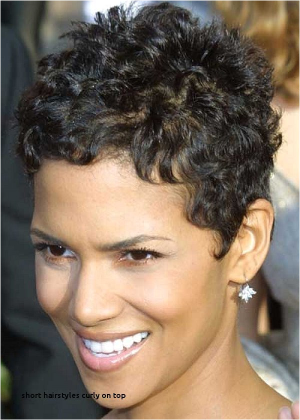 Easy Cute Hairstyles for Short Hair Short Hairstyles Curly top Short Haircut for Thick Hair 0d