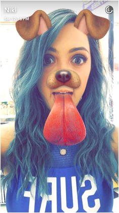 Gabi And Niki Blue Hair Cute Hairstyles Snapchat Youtubers Cut Hairstyles Cute Haircuts Cute Short Haircuts Youtube