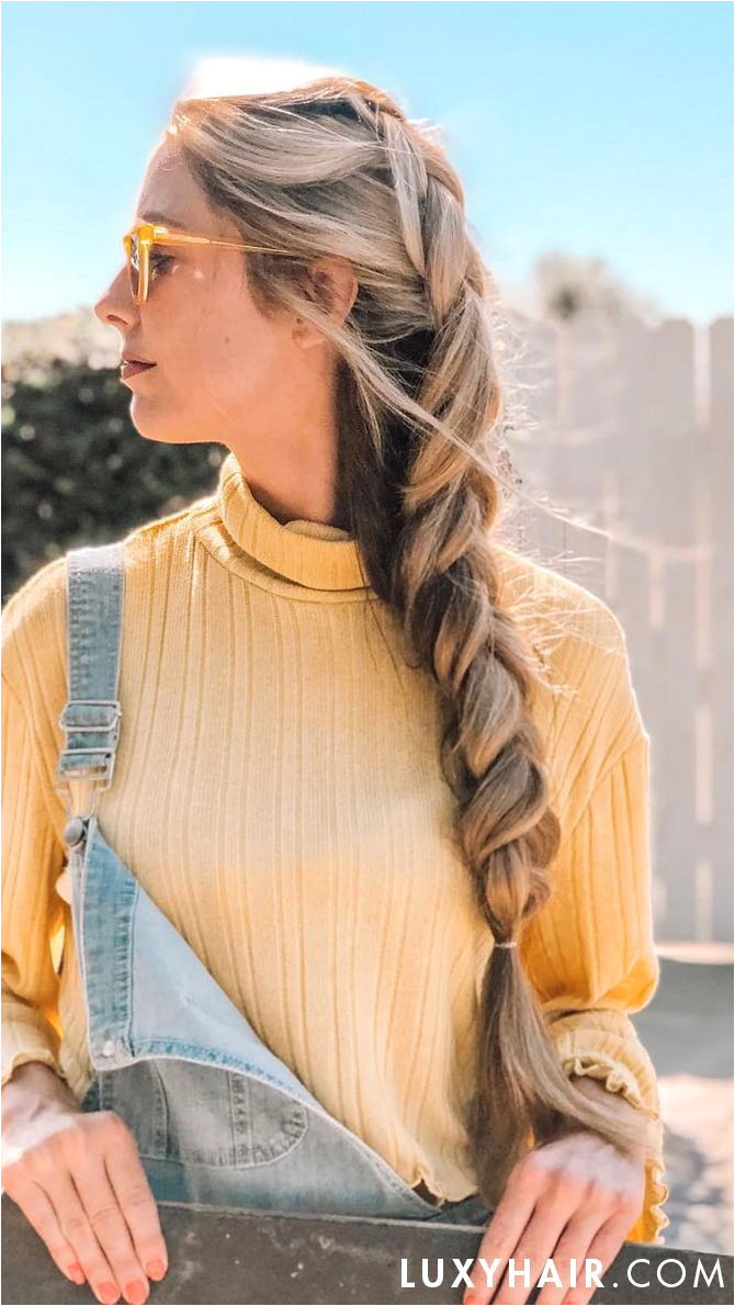 Dutch French Side Braid Braids Hairstyles Pinterest
