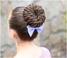 cutehairstyles2015 Cute Little Girl HairstylesEasy Bun