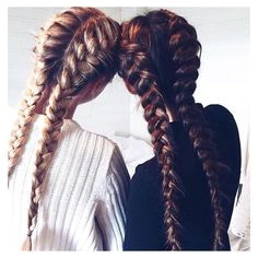 Summer Hairstyles Best friends that stay to her slay to her Loving these bestie braids