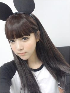 ulzzang mickey mouse ears Ulzzang Hair Ulzzang Style Hairstyles With Bangs Girly Hairstyles