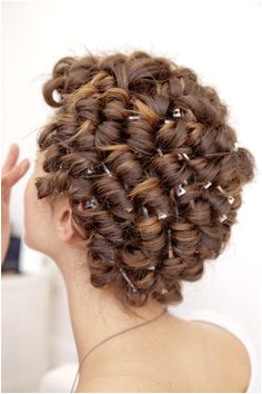 Hair Setting Curlers Beauty Shop Up Hairstyles Hairdresser Curly Hair Styles Perms Wigs Transgender Lounges Maquillaje Hairstyle Rollers In Hair