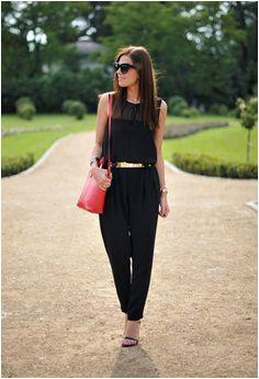 Zara Jumpsuit Black Jumpsuit Black Pants Night Out Jeans