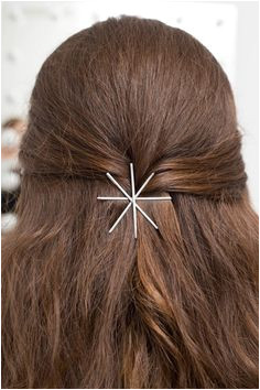 15 life changing ways to wear bobby pins Bobby Pin Hairstyles Easy Long Hairstyles