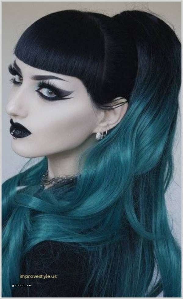 Cute Hairstyles for Girls with Bangs Lovely Cute Messi Hair Color Inspirational Goth Haircut 0d Improvestyle