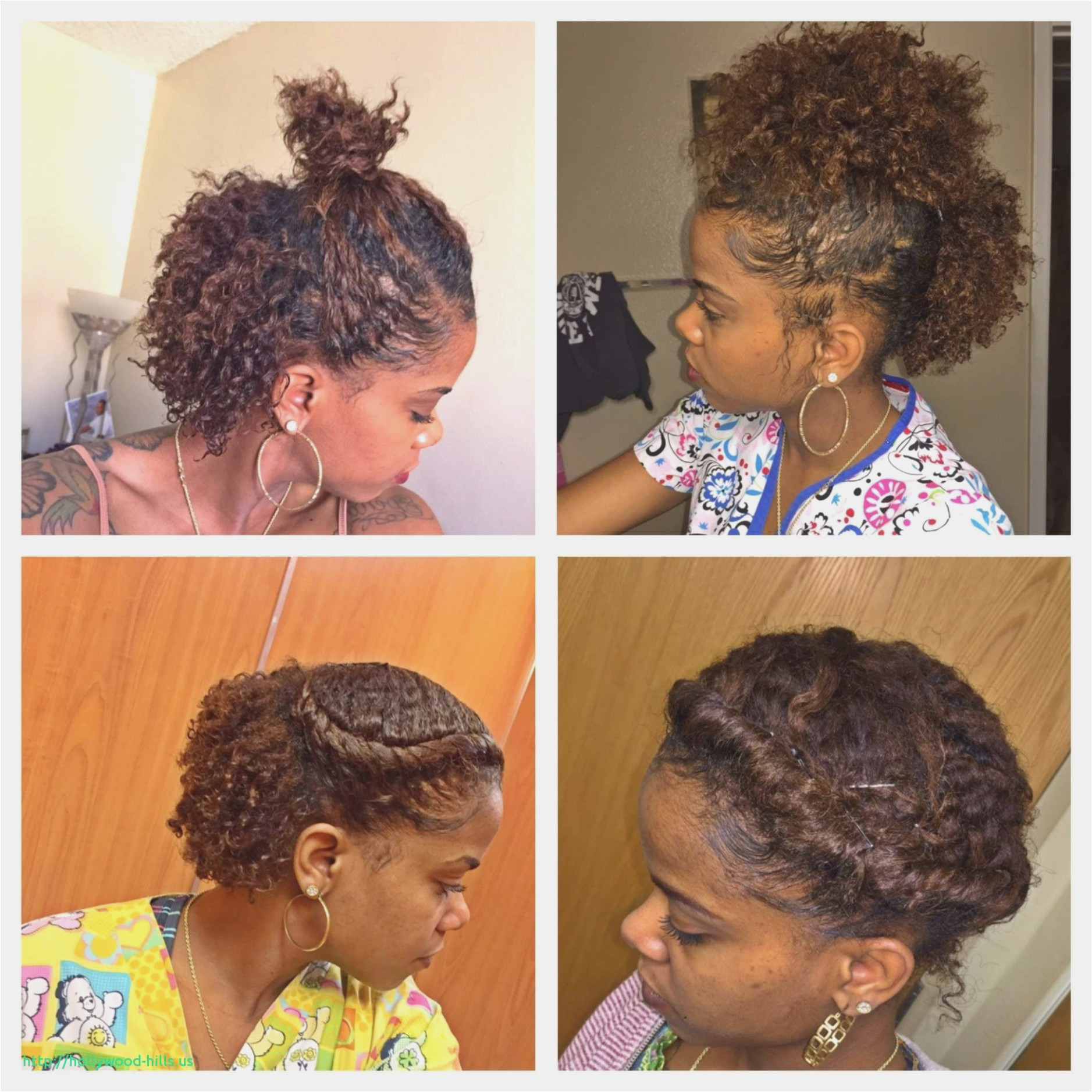 Cute Quick Hairstyles for Short Natural Hair Quick Hairstyles for Short Natural Hair Inspirational Cute Quick