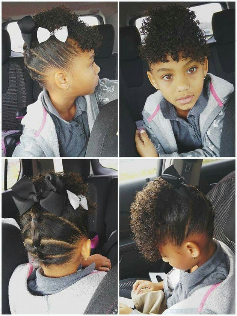 Quick Little Girl Hairstyles Awesome Adorable Natural Hairstyles Black Girls