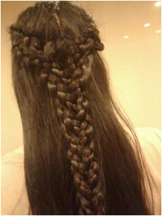 Elvish hairstyle done for me by my friend Elvish Hairstyles Me val Hairstyles