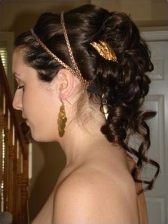 Greek goddess pin up