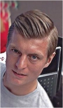 Toni Kroos with the fan cut out May 2015l