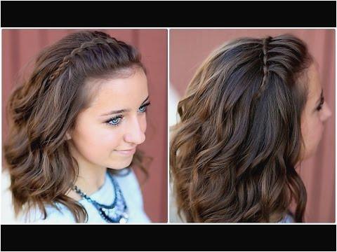 Cute Haircuts for Long Hair Unique Diy Faux Waterfall Headband
