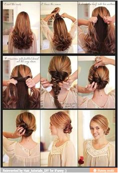 I don t care about descriptions Diy Hairstyles Wedding Hairstyles Hairdos Bridesmaids