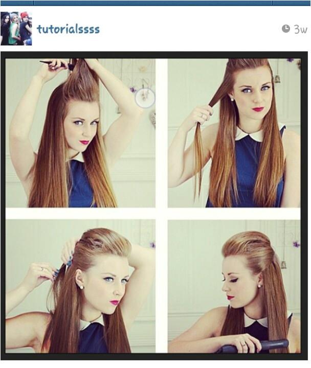 Tutorials diy hair fox hairstyle hairstyles cute funky lookin straight hair long hair poof Hairstyles