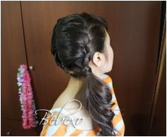 double french braid bebexo2 Side Ponytail Hairstyles Diy Hairstyles French Braid Ponytail Side Ponytails Simple