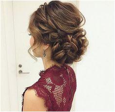 Chigon Updo For Long Hair Bridal Hair Updo High Chignon Updo Wedding Winter