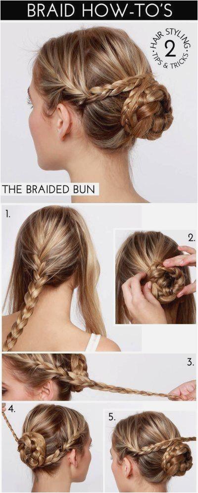 """Braided Updos for Long Hair Elegant Pun"""" a Od 3 Pletenice Hair Style Pinterest"""