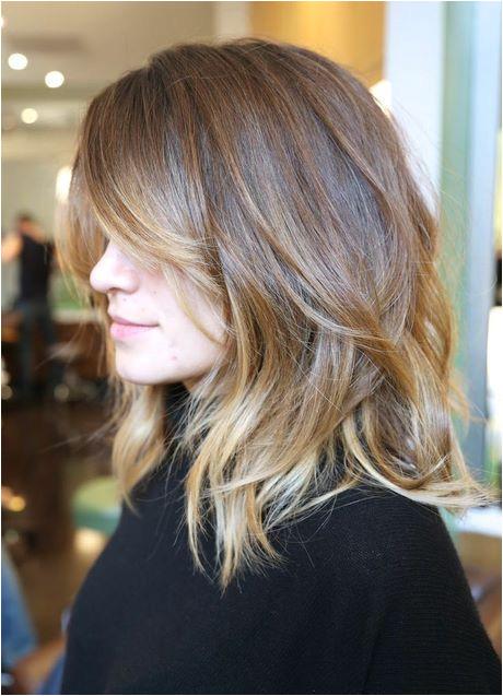 Medium geschnittene Haare geschnittene haare medium