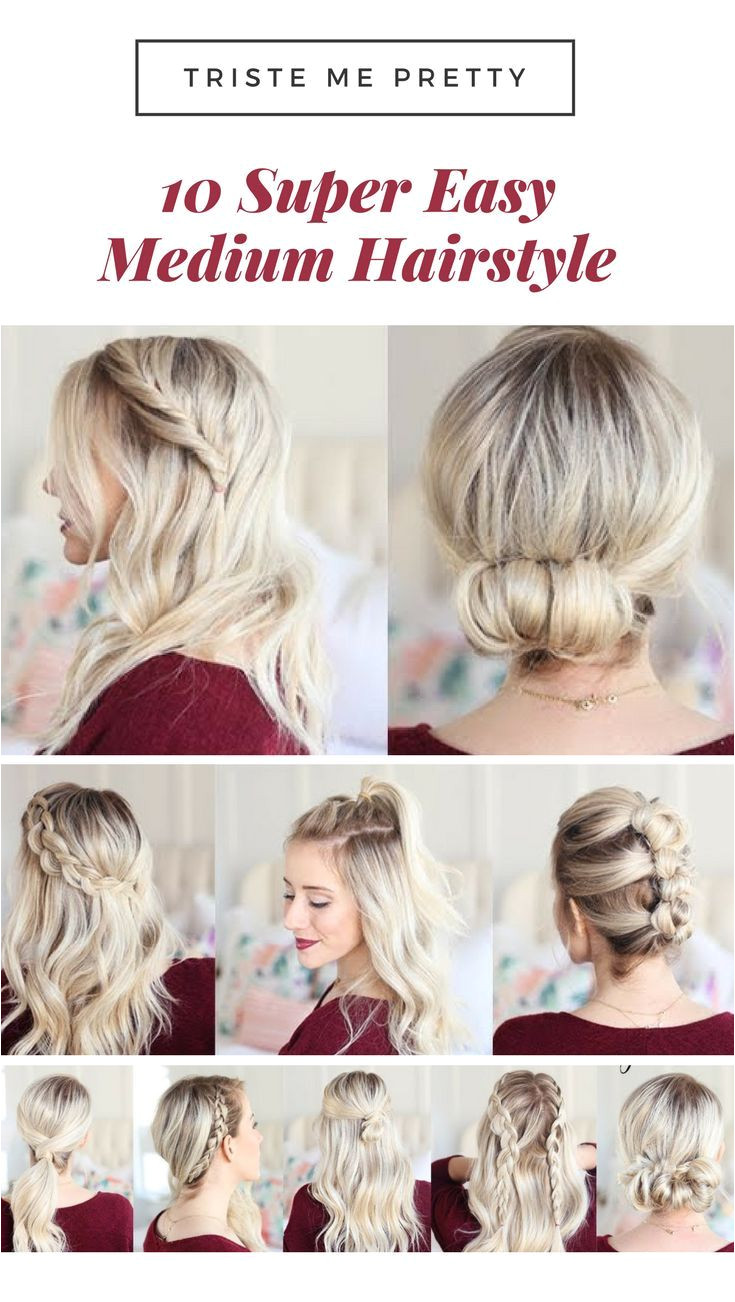 50 Effortless DIY Date Night Hairstyles For Different Hair Types Hair & Beauty that I love Pinterest