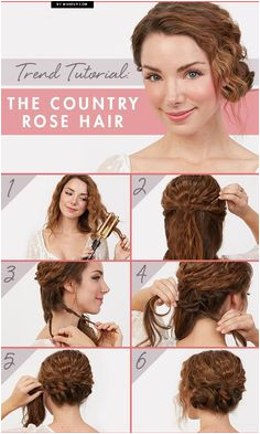Are you loving this hairstyle as much as we are This chic updo is