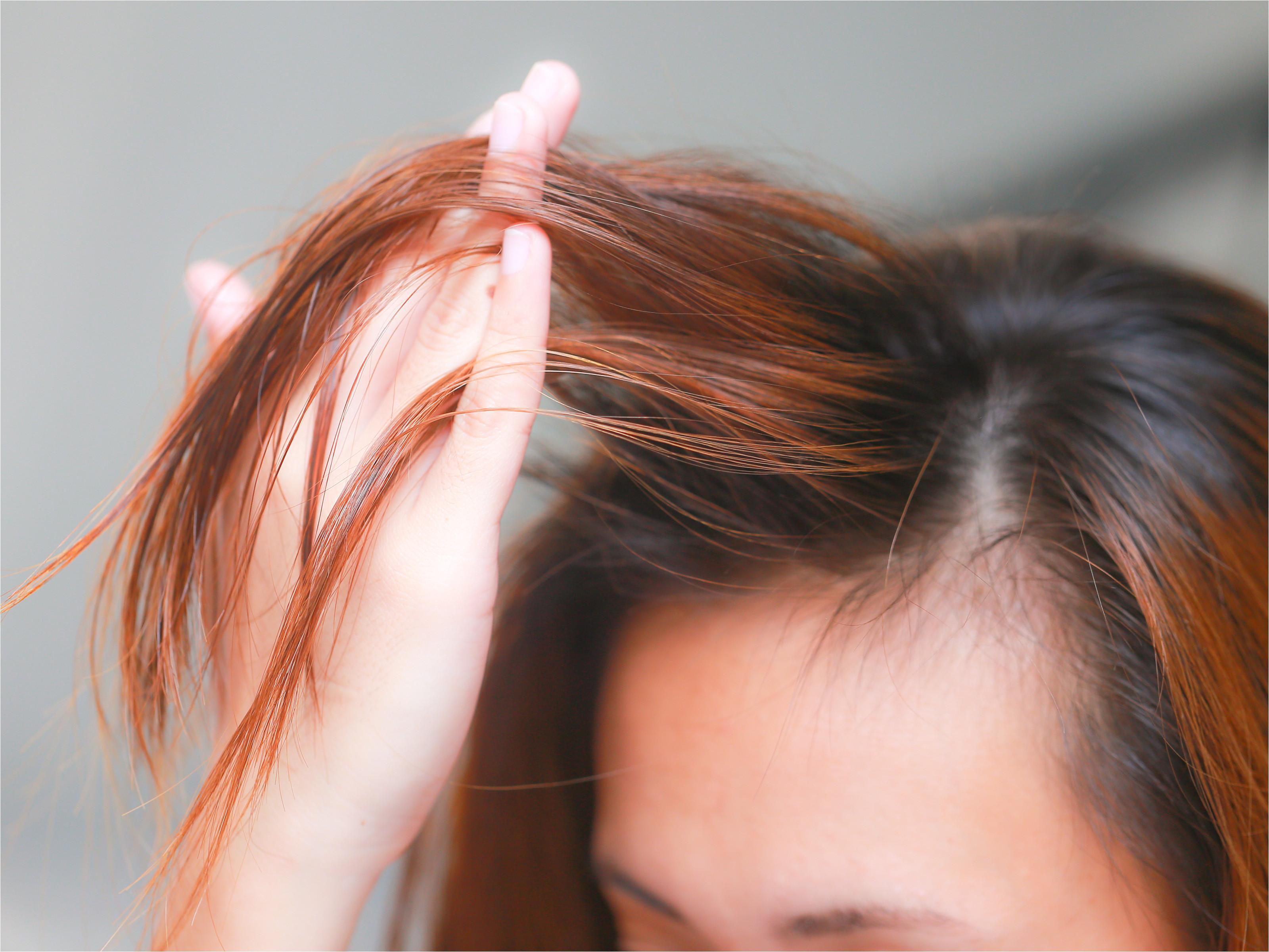 Apply Castor Oil for Hair Step 15 Version 2