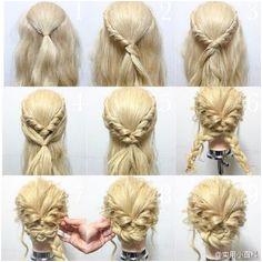 Hair tutorial Wedding Hairstyles Tutorial Prom Hair Tutorial Formal Updo Tutorial Home ing Hair