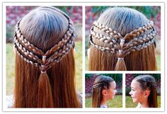 The Perfect DIY Princess Hairstyle For Long Hair