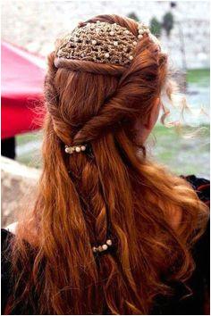 Renaissance hair Pretty Hairstyles Wedding Hairstyles Style Hairstyle Fantasy Hairstyles Elven Hairstyles