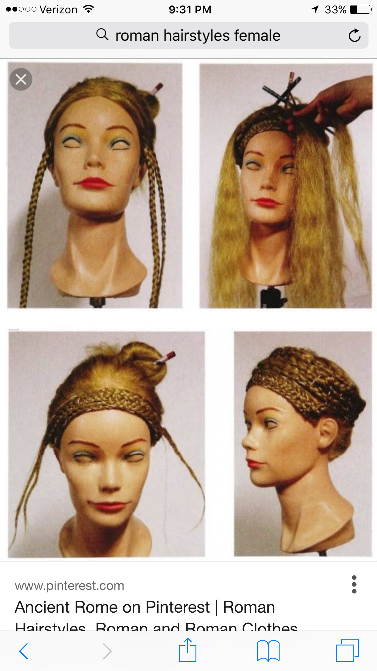 Egyptian Hairstyles Roman Hairstyles Me val Hairstyles Historical Hairstyles Modern Hairstyles Vintage