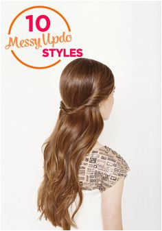 Party Hair Inspiration 10 Gorgeous Messy Updos From Pinterest Easy Hairstyles For Long HairHairstyle