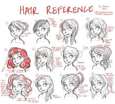 Drawing How To Draw Cartoon Hair For Beginners Plus How To Draw Cartoon Hair Easy