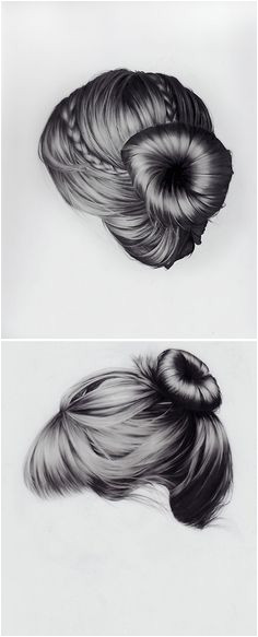 115 Best drawing hair images