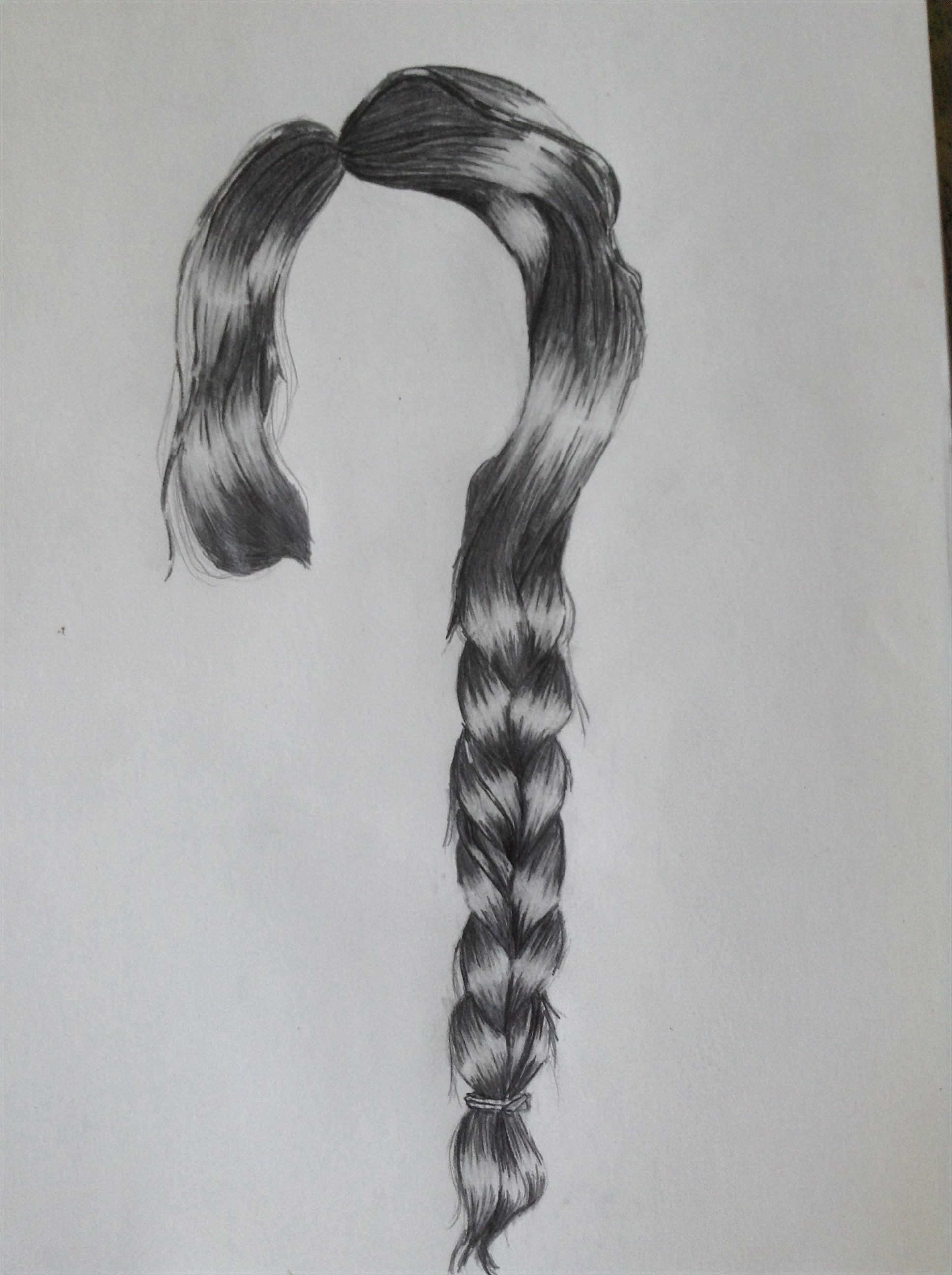 Drawing Realistic Hairstyles Drawing Realistic Hair This is About My Third attempt to Draw A