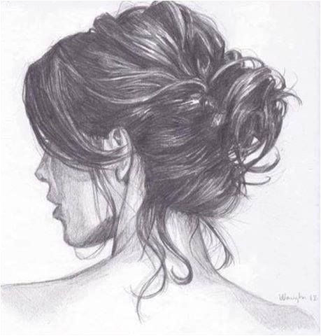 I want to be able to draw hair like this