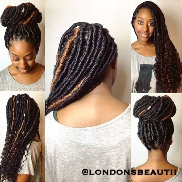 Goddess Faux Locs done by London s Beautii in Bowie Maryland v londonsbeautii