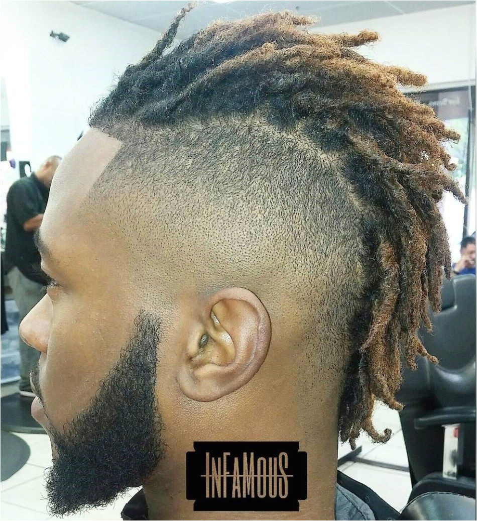 Bold Mohawk with Dreads