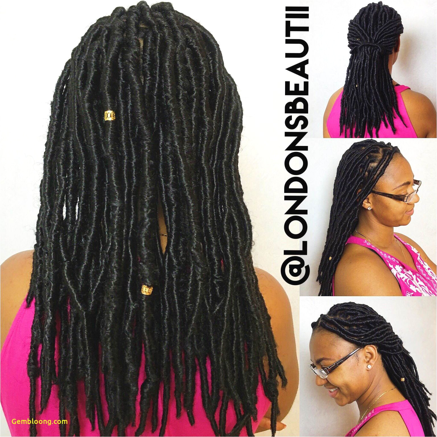 approach of long dreads hairstyles