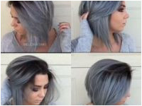 Short Dyed Grey Hairstyles Beautiful From Pastels to Silver This Girl Slays Every Colour Silver Hair