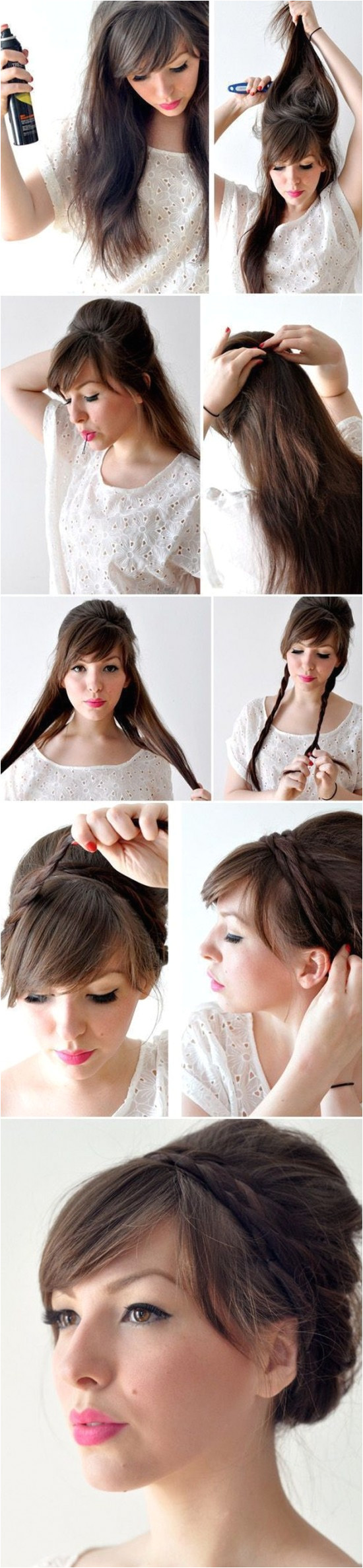 Creative Hairstyles That You Can Easily Do at Home 011