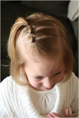 Love doing my 1 yr old s hair but never know what to do This blog is great Did this one & it worked Plus is stayed in all day