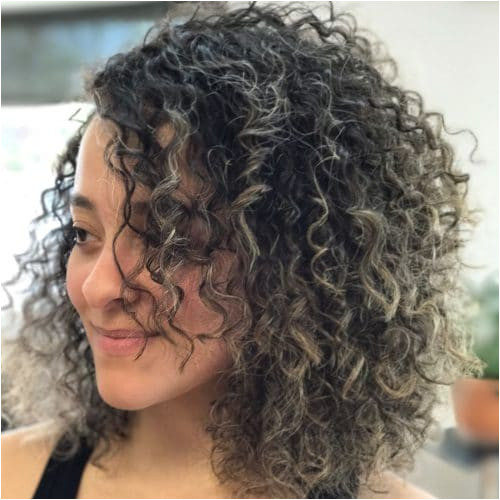 Layered Curls A gorgeous Layered Curly Bob hairstyle
