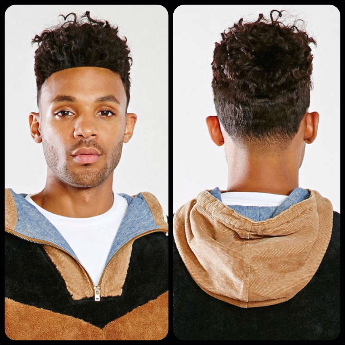 Hightop Type 3a Curl Textured Hairstyles Men s Hairstyles 3a Curls Mixed Boy