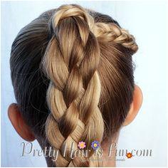 Pretty Hair is Fun How to do a Five 5 Strand Braid Video Tutorial
