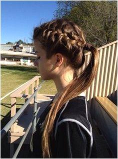 Hairstyles Side Braid Ponytail French Braid Into Ponytail Braided Ponytail Hairstyles Side Plait