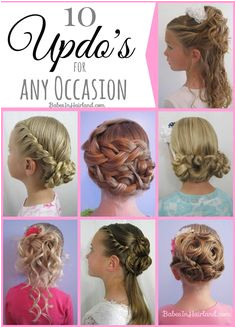 10 Updo s for Any Occasion