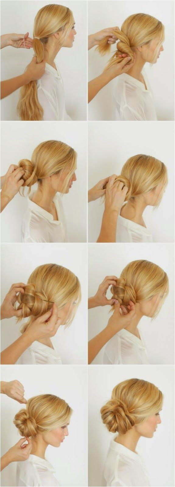 KNOTTED BUN TUTORIAL