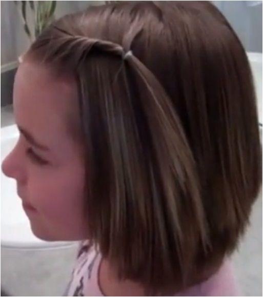 Easy Hairstyles for Short Hair Girls Best 20 Short Hairstyles for Little Girls Haircuts for
