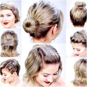 Easy Hairstyles Dailymotion In Urdu Bun Hairstyles for Short Hair Dailymotion