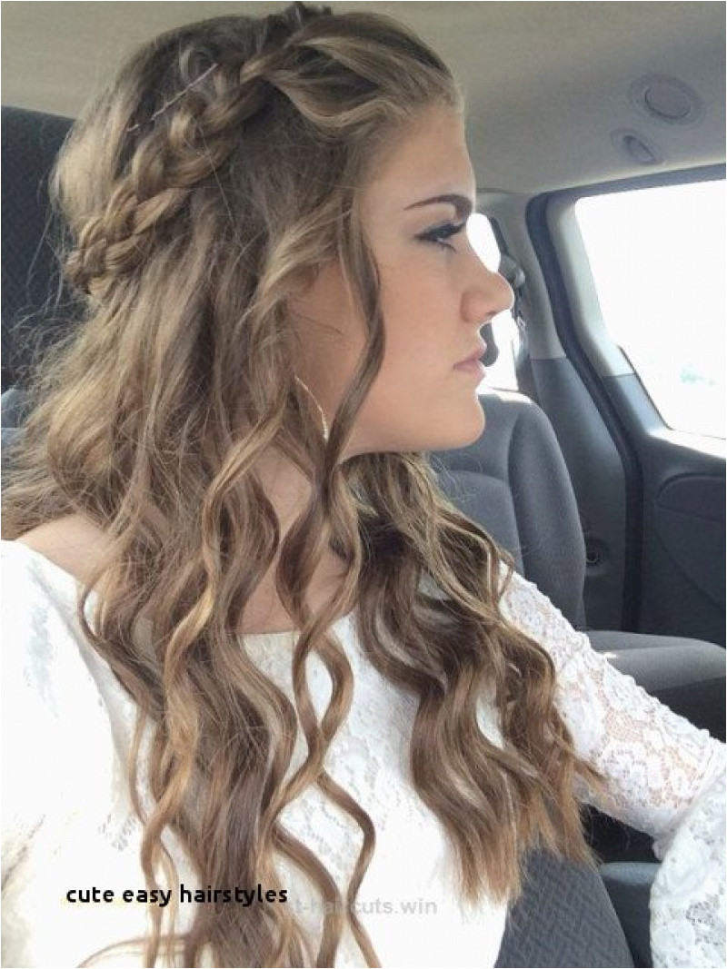 Cute Easy Hairstyles Enormous Cute Easy Fast Hairstyles Best Hairstyle for Medium Hair 0d