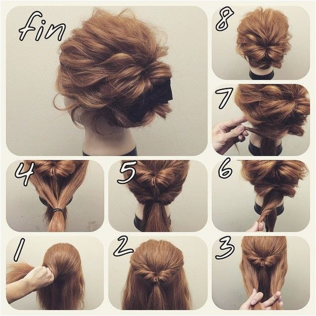Easy Hairstyles for Short Hair Step by Step Easy Hairstyles for Short Hair Cool Short Hair
